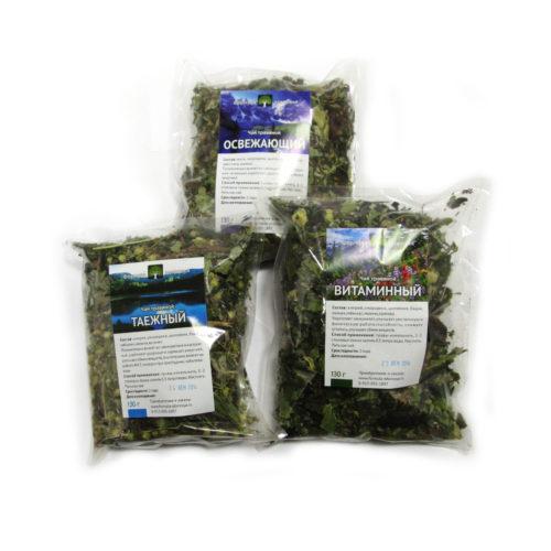 Чаи травяные из трав Алтая
