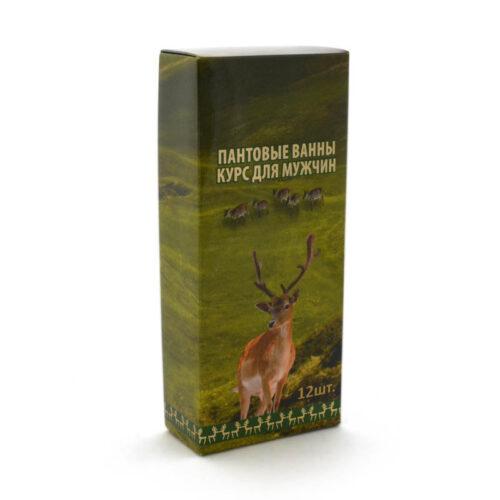 Средство для принятия ванн для мужчин из крови пятнистого оленя