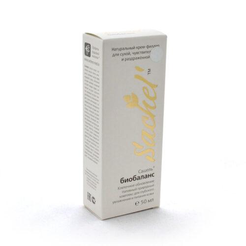 Натуральный крем-филлер для сухой, чувствительной и раздражённой кожи «Сашель» биобаланс