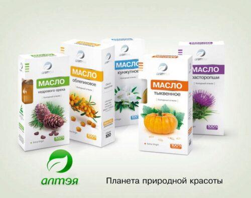 Серия Алтэя - масла, витамины, чаи