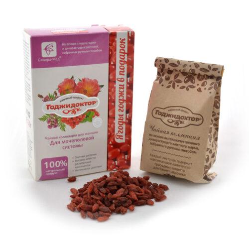 Чай с плодами годжи «Годжидоктор» Для женщин