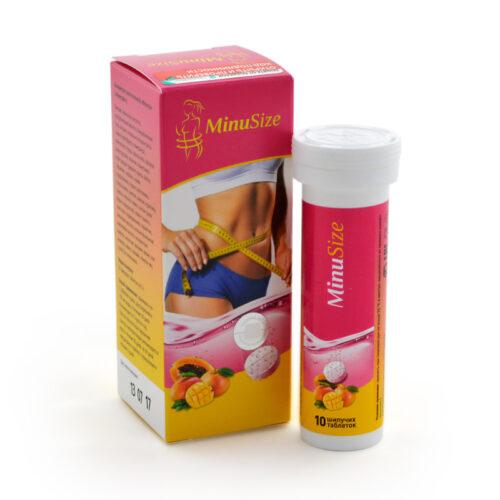 MinuSize шипучие таблетки для похудения: легкое избавление от лишних килограммов